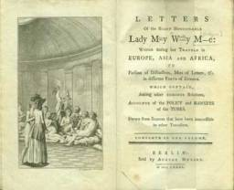 "To what extent can Said's statements about Orientalism be interestingly applied to the ""techniques of representation"" employed by Lady Mary Wortley Montagu in The Turkish Embassy Letters?"