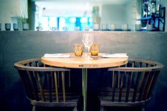 Table du bar